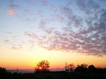 Небеса сафари горизонта стоковые фото