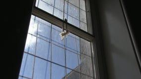 Небеса через окно акции видеоматериалы