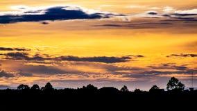 Небеса Bueng Kan стоковое фото rf
