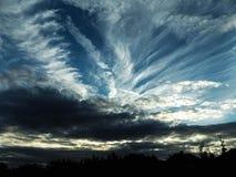 Небеса craziness стоковая фотография