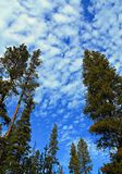 Небеса Fall River Стоковое фото RF