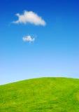 небеса n холмов Стоковые Изображения RF