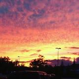 Небеса Ombré Стоковое фото RF