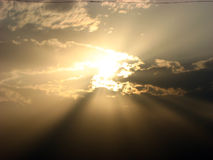 небесное солнце Стоковые Фото