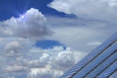 Небесное солнечное Стоковые Фотографии RF