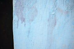 Небесно-голубая грубая проблема с бортовой черной текстурой предпосылки нашивки Стоковое фото RF