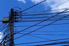небесно-голубое солнце Стоковая Фотография RF