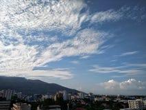 Небесно-голубое Стоковое Изображение