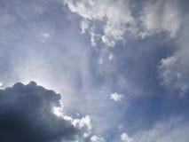 Небесно-голубой и небо 2 Стоковая Фотография RF
