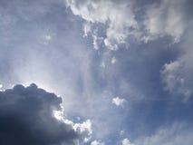 Небесно-голубой и небо 2 Стоковые Изображения