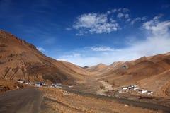 небесные села плато стоковое фото