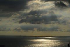 Небесные лучи Sky Стоковое Фото