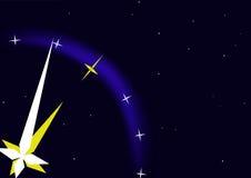 небесные часы иллюстрация штока