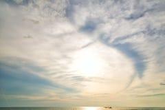 Небесный глаз моря Стоковое Изображение RF