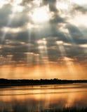 Небесный день Стоковые Изображения RF