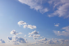 небесный ландшафт Стоковая Фотография RF