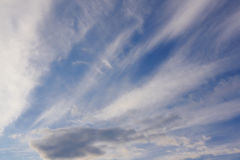 небесный ландшафт Стоковое Изображение