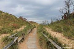 Небесный путь прогулки Стоковое Фото