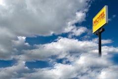 Небесный сон на мотеле Стоковое Изображение