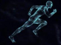 Небесный спринтер иллюстрация вектора