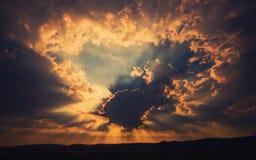 Небесный этап Стоковая Фотография