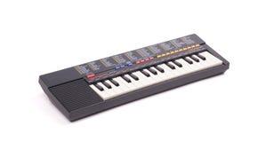 Небольшая старая изолированная клавиатура, стоковое изображение rf