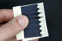 Небольшие бумажные спички картона Бумажные спички стоковая фотография rf