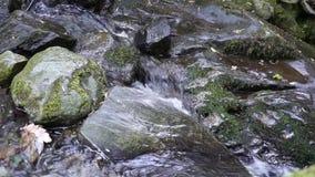 Небольшое река пропуская через утесы Ирландии акции видеоматериалы
