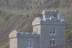 Небольшое catle в горе Conwy стоковые фотографии rf