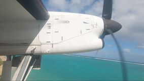 Небольшой лорд Howe Остров взлета гипер-упущения воздушных судн регулярного пассажира пригородных поездов акции видеоматериалы