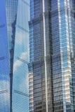2 небоскреба Liujiashui Шанхай Китай Стоковое Изображение RF