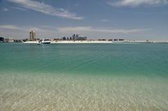 Небоскребы в Абу-Даби Стоковая Фотография RF