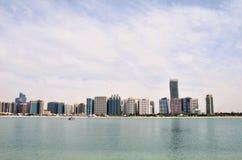 Небоскребы в Абу-Даби Стоковые Фото