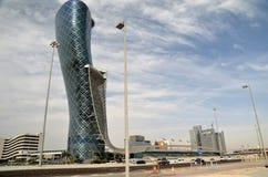 Небоскребы в Абу-Даби Стоковое Изображение
