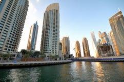 Небоскребы в Дубай Стоковое Изображение