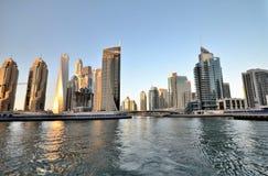 Небоскребы в Дубай Стоковая Фотография RF