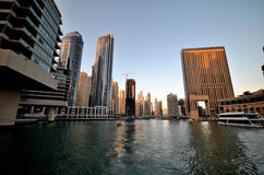 Небоскребы в Дубай Стоковые Изображения