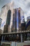Небоскребы в Париже - Ла Defanse Стоковые Изображения RF