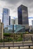 Небоскребы в Париже - Ла Defanse Стоковое фото RF