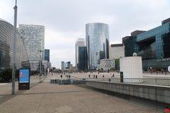 Небоскребы в Париже - Ла Defanse Стоковое Изображение