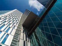 Небоскребы в центре Франкфурта, Германии Стоковые Фото