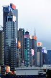 Небоскребы в Hong Kong. Стоковые Фото