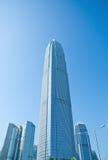 Небоскребы Гонконга стоковое изображение