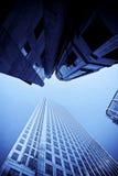 небоскребы города самомоднейшие стоковое фото