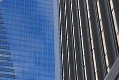 небоскребы детали стоковые фото