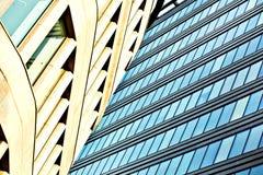 небоскребы здания внутри городские Стоковая Фотография RF