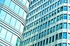Небоскребы здания внутри городские Стоковые Фотографии RF