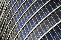 Небоскребы здания подъема синего стекла высокие стоковая фотография rf