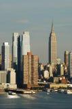 небоскребы империи города новые заявляют york Стоковое фото RF