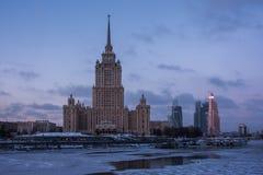 Небоскребы Москвы. Стоковые Изображения